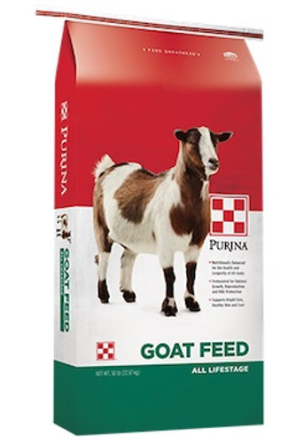 Purina Goat Chow Goat Feed All Lifestages