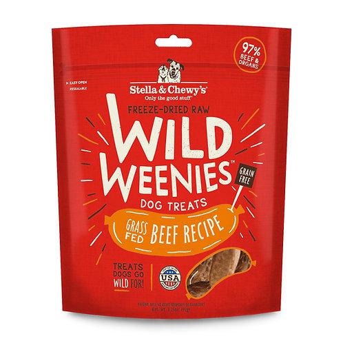 Stella & Chewy's Freeze-Dried Raw Beef Wild Weenies Dog Treats, 3.25 Ounces