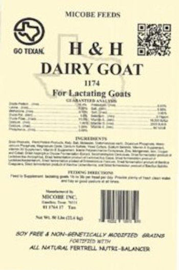 H and H Dairy Goat Feed