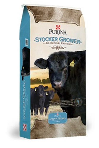 Purina Stocker Grower Cattle Feed