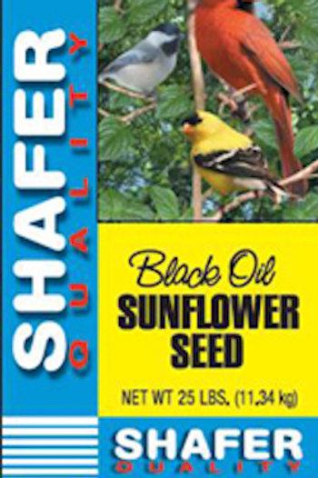Black Oil Sunflower Seed - 25 lb