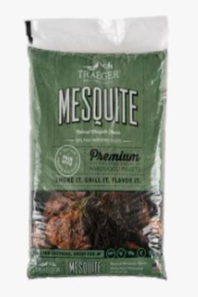 Ttraeger Mesquie BBQ Wood Pellets