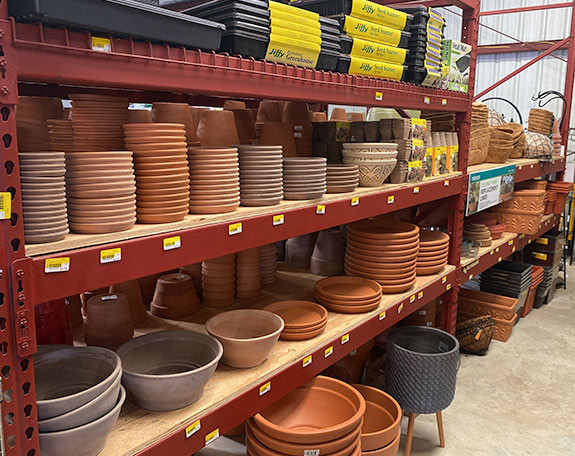 Plant Pottery King Feed Canyon Lake