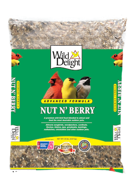 Wild Delight Nut N' Berry 20 lbs. or 5 lbs.