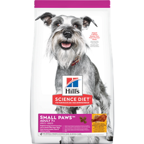 Hills Science Diet Adult 7+ Small Paws Chicken Meal, Barley & Brown Rice