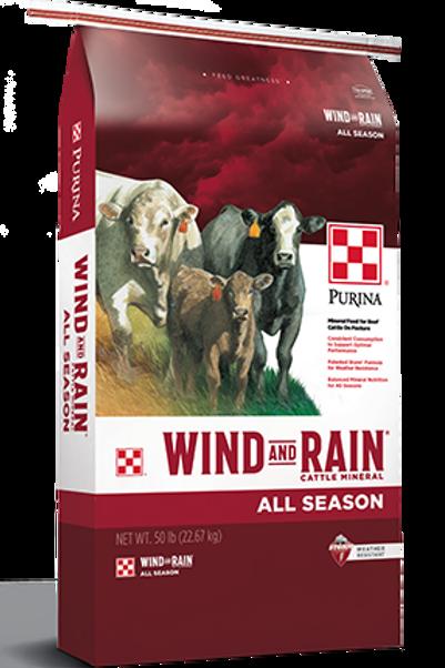 Purina Wind and Rain All Season Cattle Feed