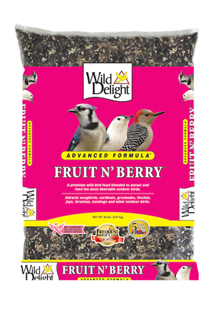 Wild Delight Fruit N' Berry 20 lbs. or 5 lbs.