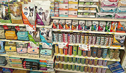 Dry and Canned Cat Food