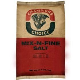 Champions Choice Mix-N-Fine Salt Feed