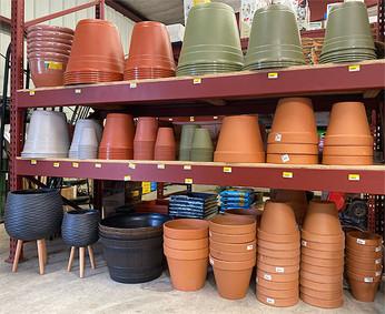 Terra Cotta and Plastic Pottery