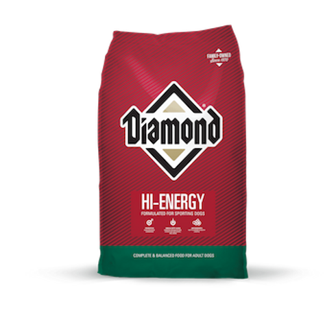 Diamond Hi-Energy Formulated For Sporting Dogs 50 lbs.