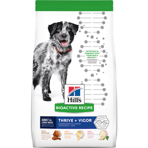 Hill's Bioactive Recipe Adult 6+ Large Breed Thrive + Vigor 22.5 lbs.