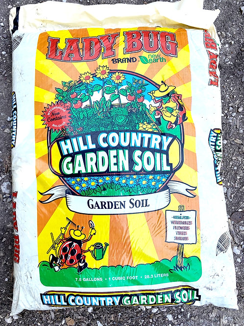 Lady Bug Hill Country Garden Soil
