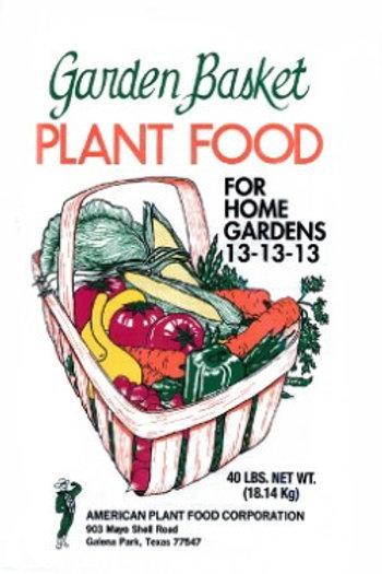 Garden Basket Plant Food 13-13-13