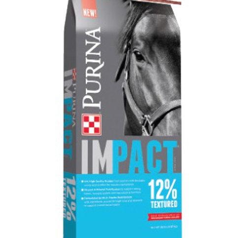 Purina Impact Horse 12 Sweet 50lb Textured
