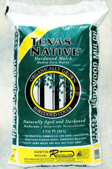 Texas Native Hardwood Mulch