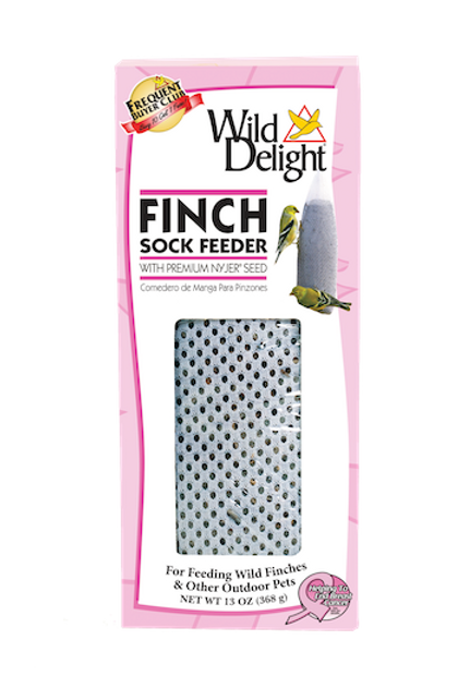 Wild Delight Finch Sock Feeder 13 oz.