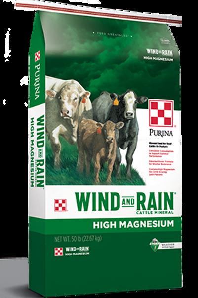 Purina Wind and Rain High Magnesium Cattle Feed