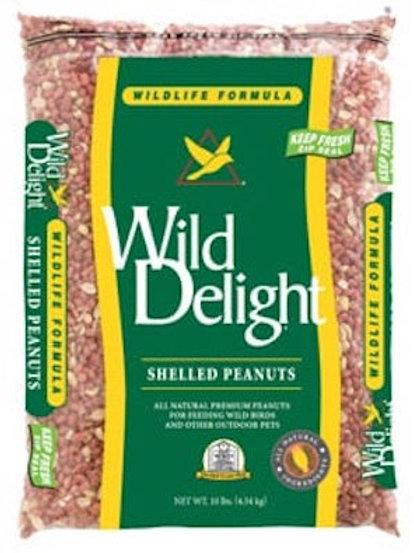 Wild Delight Shelled Peanuts - 10 lb