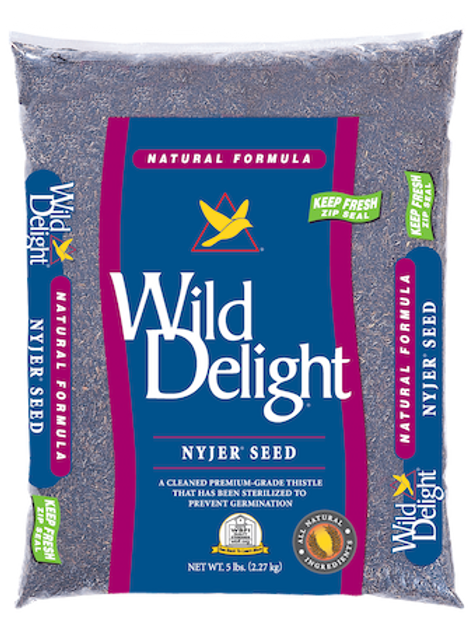 Wild Delight Nyjer Seed 20 lbs. or 5 lbs.