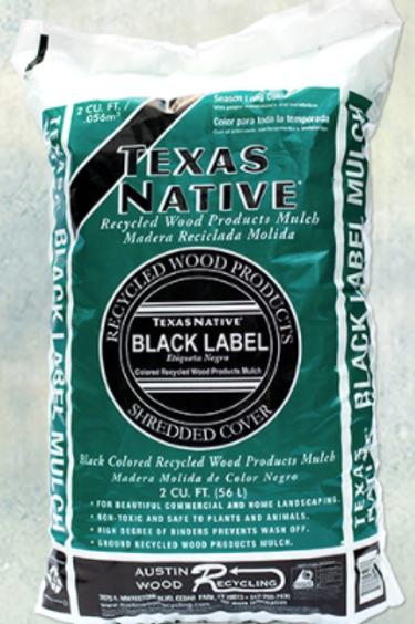 Texas Native Black Label Mulch
