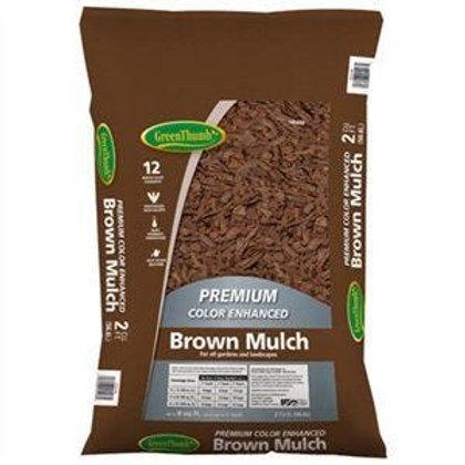 Green Thumb Brown Mulch