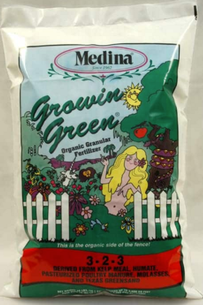 Medina Growing Green 3-2-3