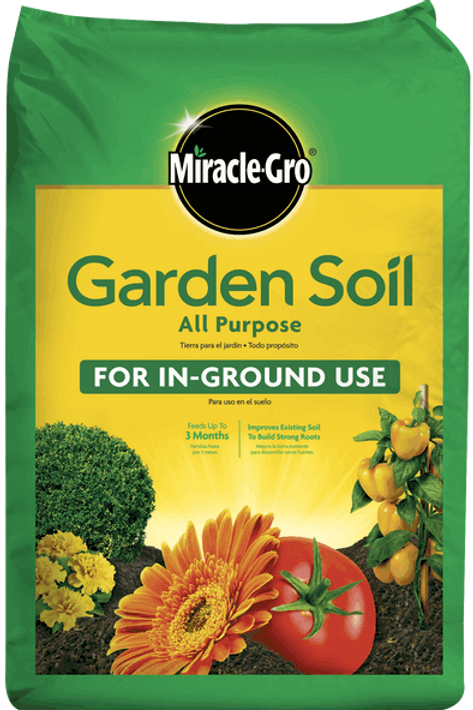 Miracle Gro Garden Soil In Ground Use