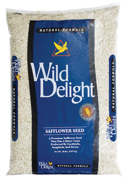 Wild Delight Safflower Seed 20 lbs. or 8 lbs.