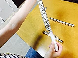 http://www.akiko-flute.com/フルートメンテナンス胴部管通し