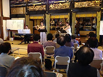 http://www.akiko-flute.com/活動寺院コンサート