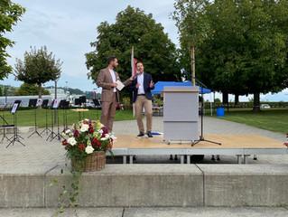Kantonsratsfeier in Schenkon