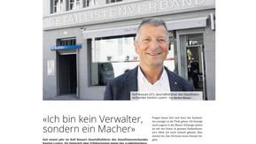 Interview Rolf Bossart als Geschäftsführer des Detaillistenverbandes