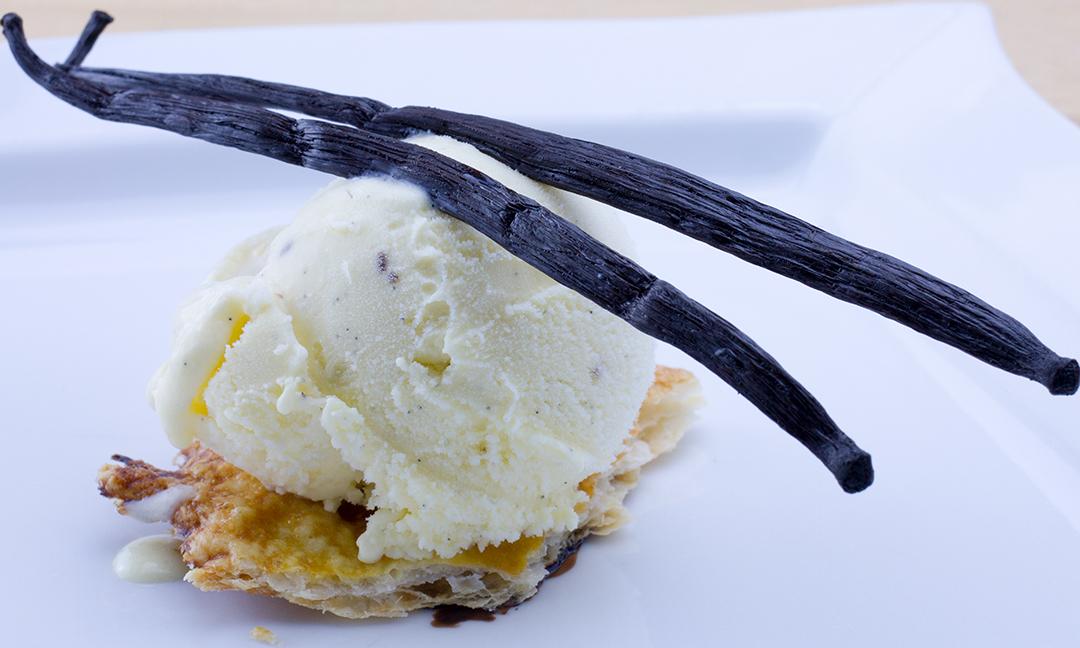 Gelato alla vaniglia del Madagascar