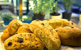 Il nostro pane, rigorosamente fatto in c