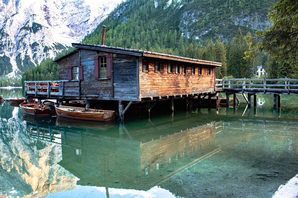 Casetta al Lago di Braies