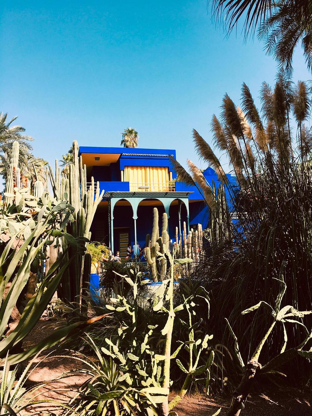 Palazzo blu Le Jardine Majorelle