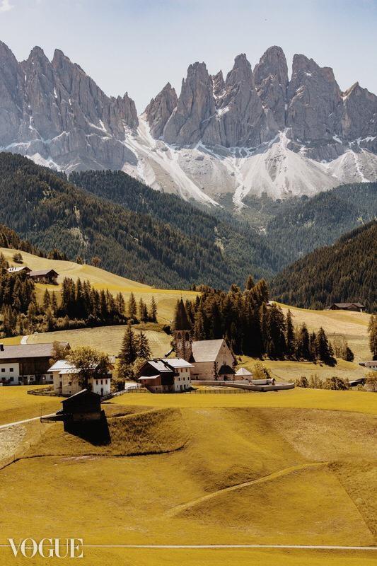 Vista di Santa Maddalena Trentino
