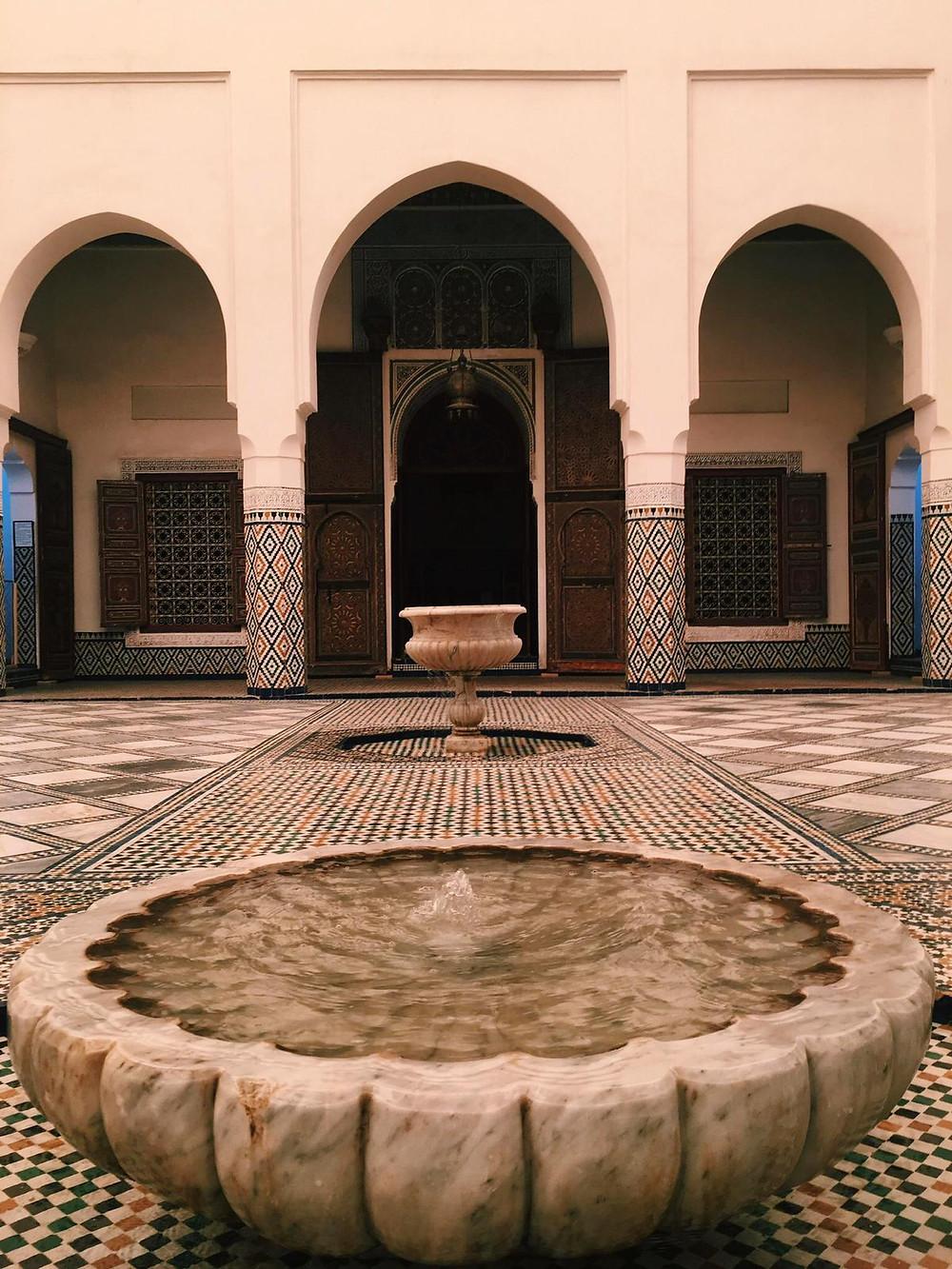Fontana Museo di Marrakech