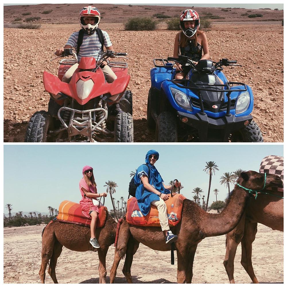 Marrakech Quad e Cammelli nel deserto
