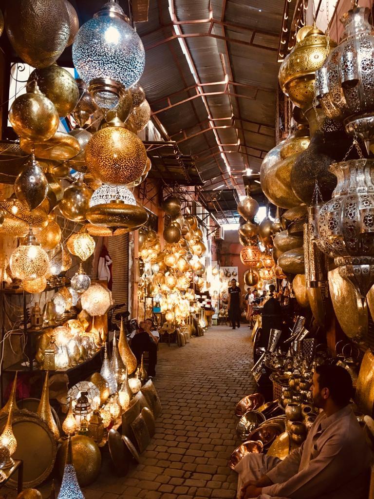 Souk Lampade Marrakech