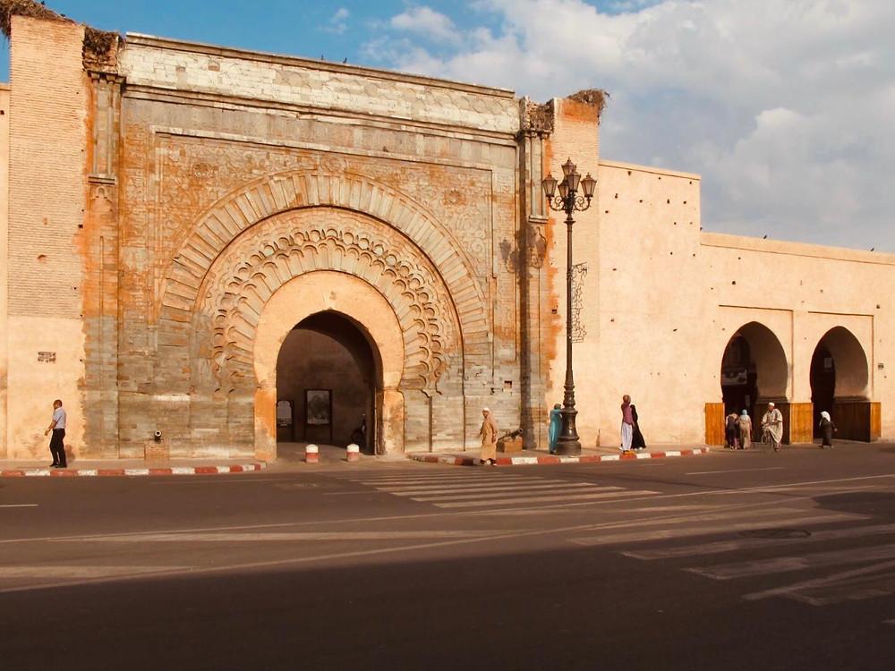 Porta Bab Agnaou Marrakech
