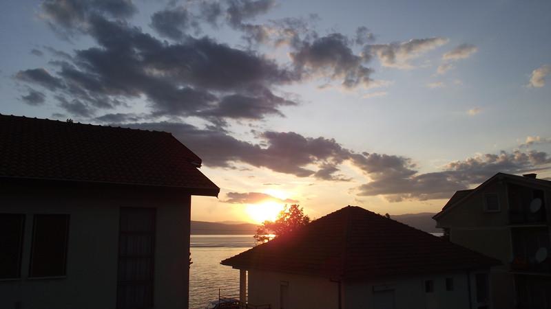 Uitzicht vanuit Villa Lakeview
