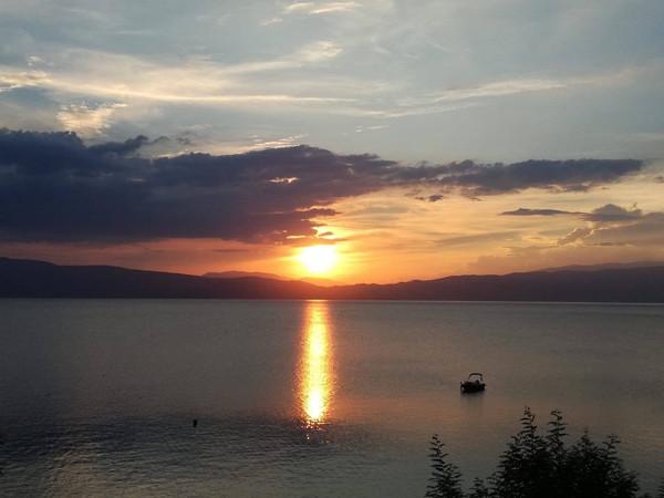 Elke dag een prachtige zonsondergangd