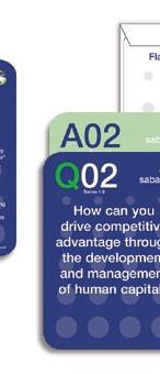 Promo Flash Cards for Saba e-Learning