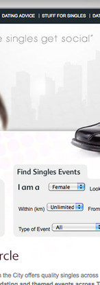 Webpage for Single In The City