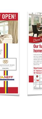 Print Ad for Kaneff Homes
