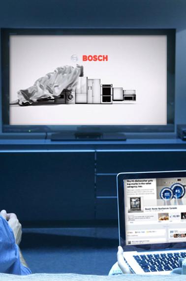 Website and TV spot for Bosch Home Appliances