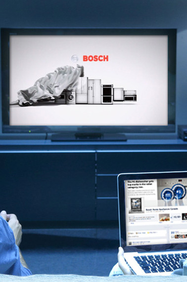 Website and TV spot for Bosch Home Appliances
