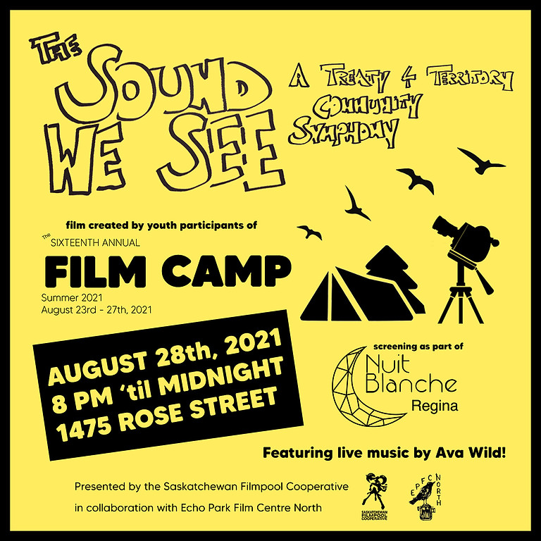 """The Sound We See — A Treaty 4 Territory Community Symphony"" FILM SCREENING"